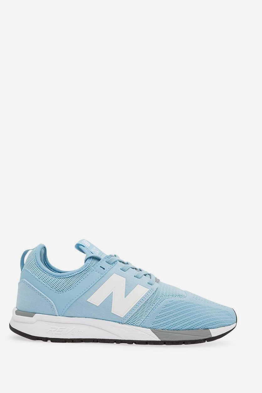 Running Shoes, White/Blue