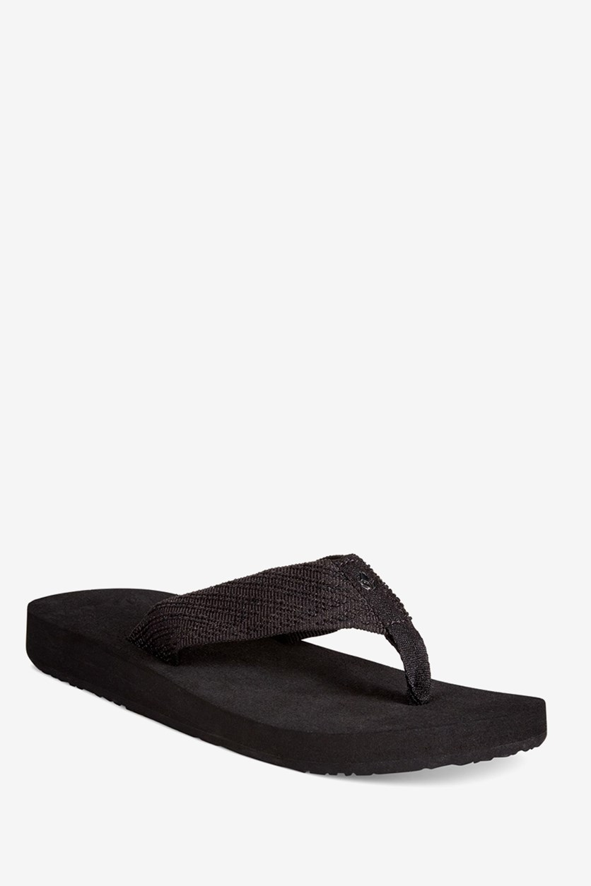Sandy Love Platform Flip Flop, Black