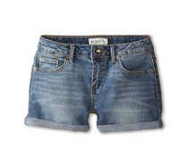 Roxy Girls' Big Blue Crush Denim Shorts, Blue