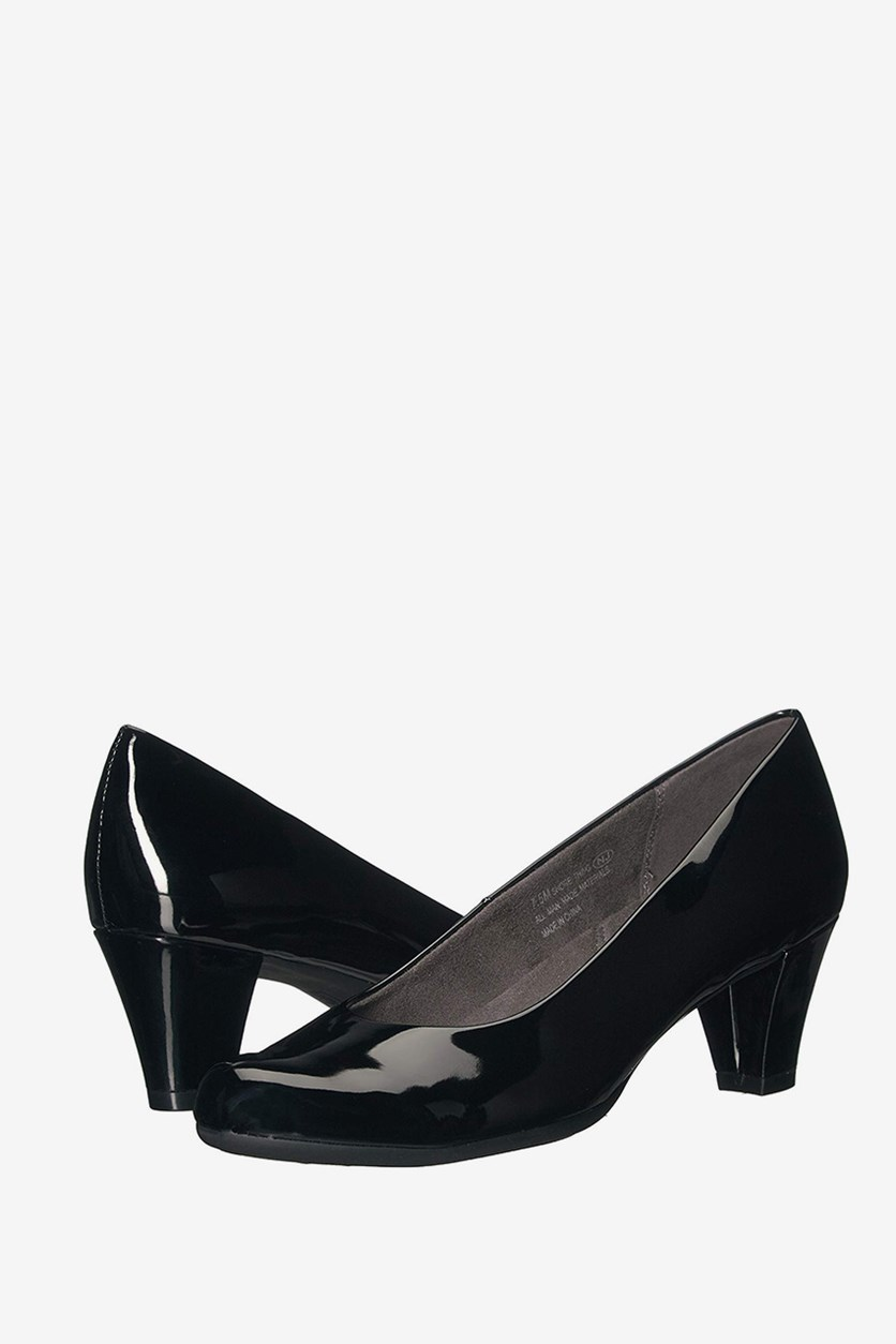 Shore Thing Pumps, Black Patent
