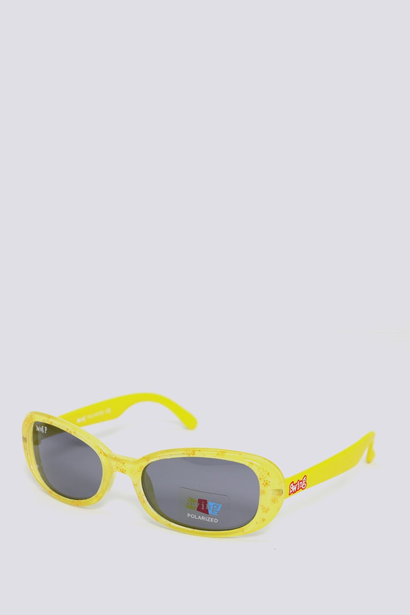 Kids SS13 Polarized Sunglasses, Yellow