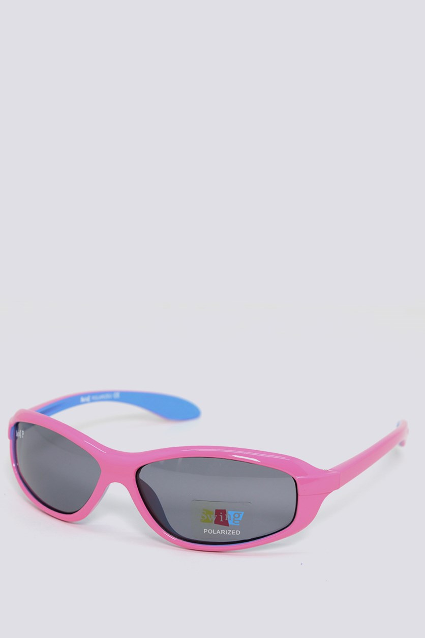 Kids SS15 Polarized Sunglasses, Pink/Blue