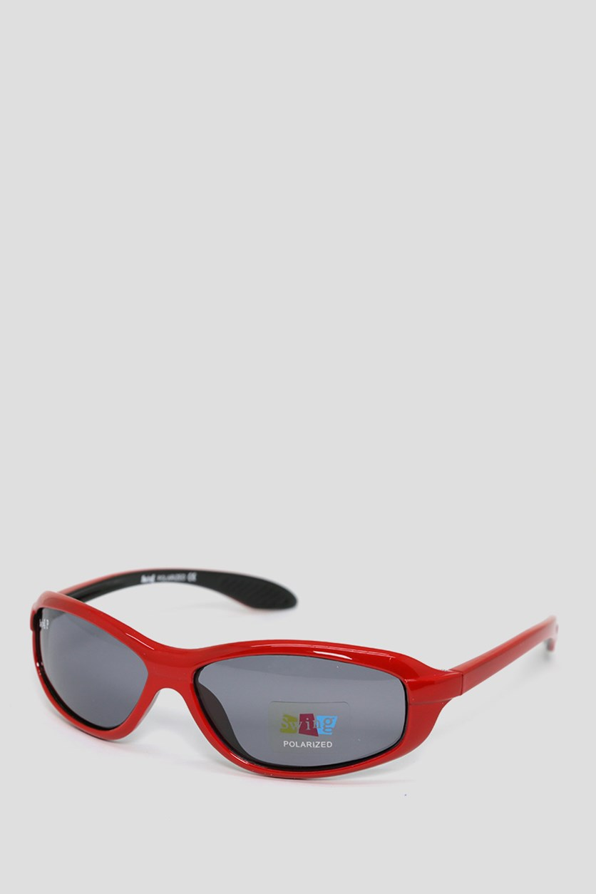 Kids SS15 Polarized Sunglasses, Red