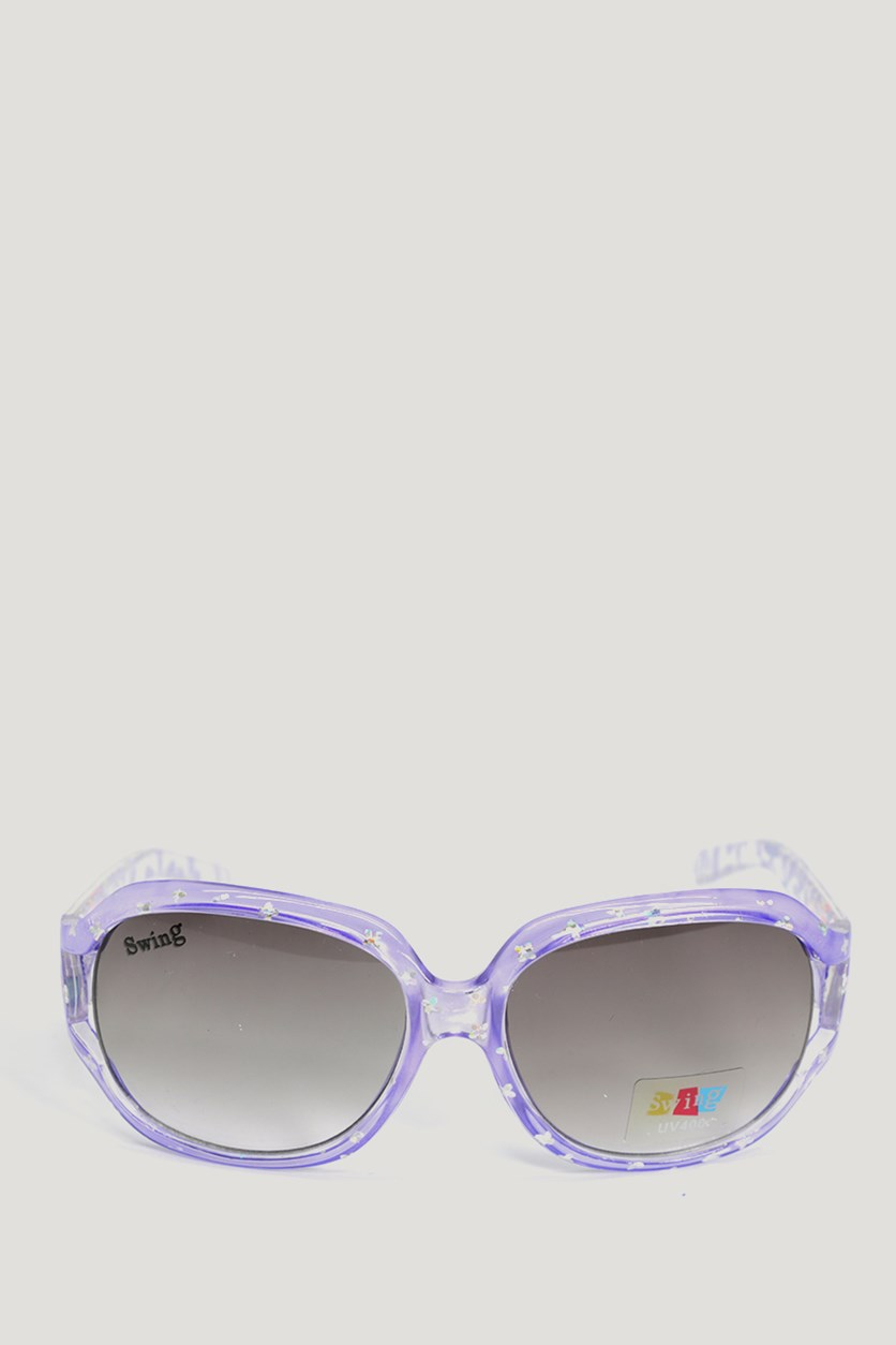 Swing Kids Girl's SS16 Polarized Sunglasses, Purple