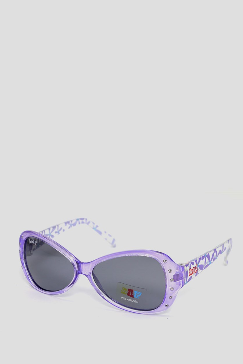 Kids SS19 Polarized Sunglasses, Purple
