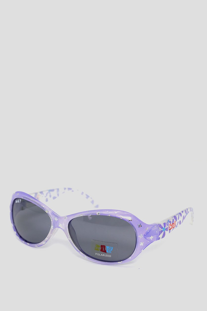 Kids SS20 Polarized Sunglasses, Lavender