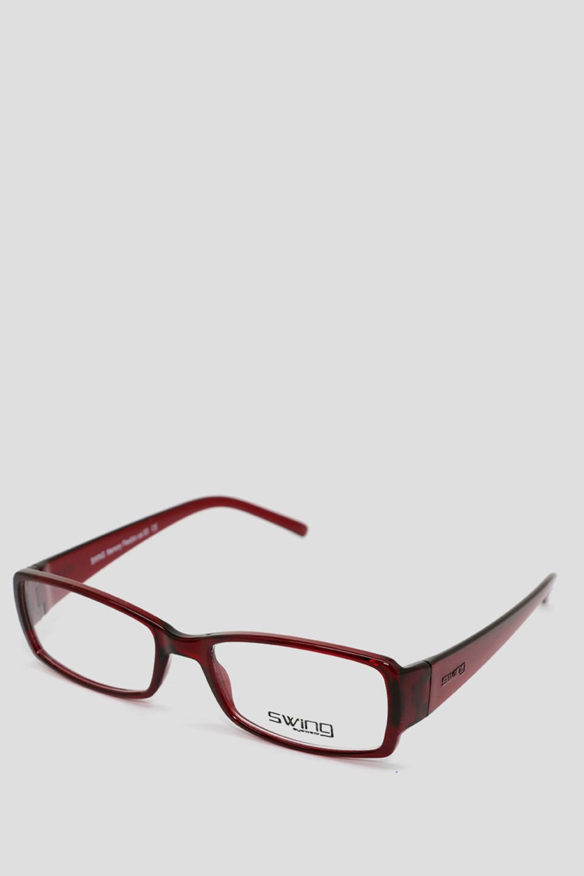 Eyewear Memory Flexible Frames, Transparent Maroon