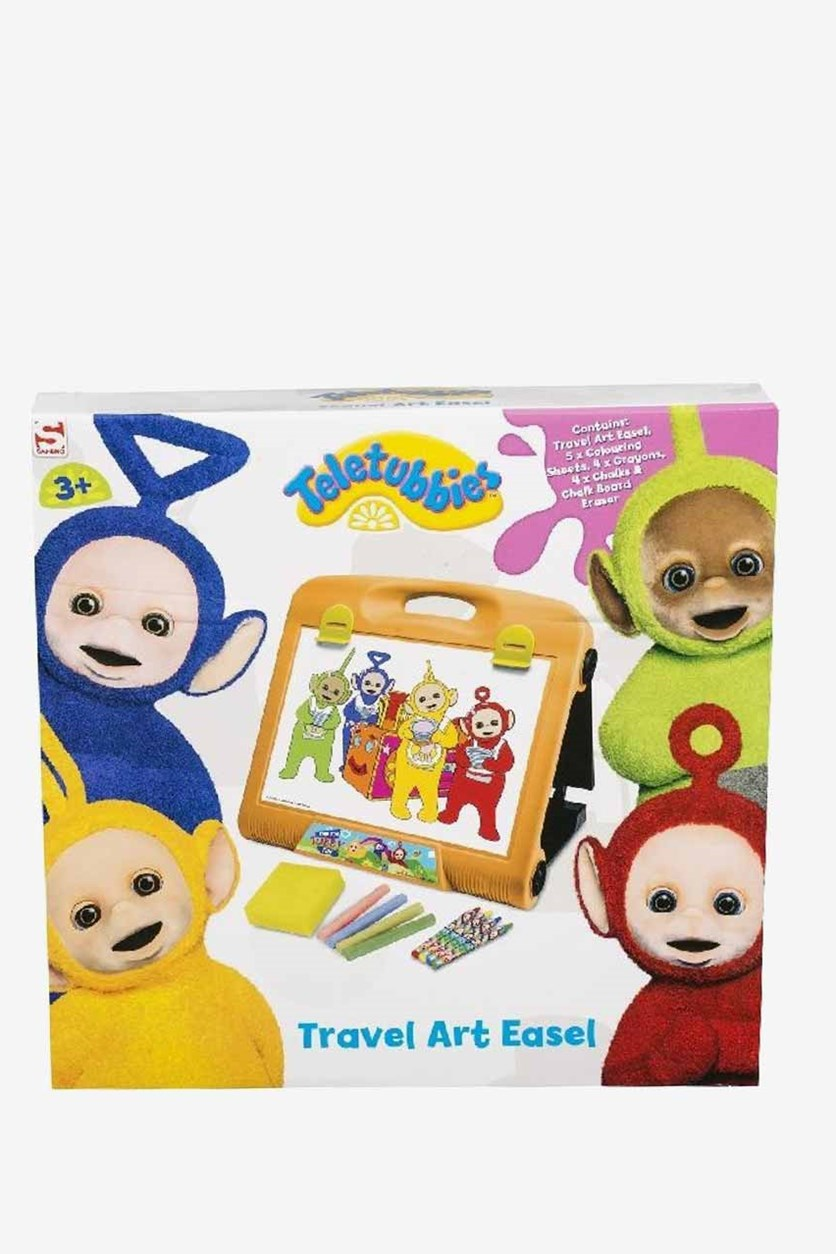Teletubbies Drawing Board for Traveling, White Combo
