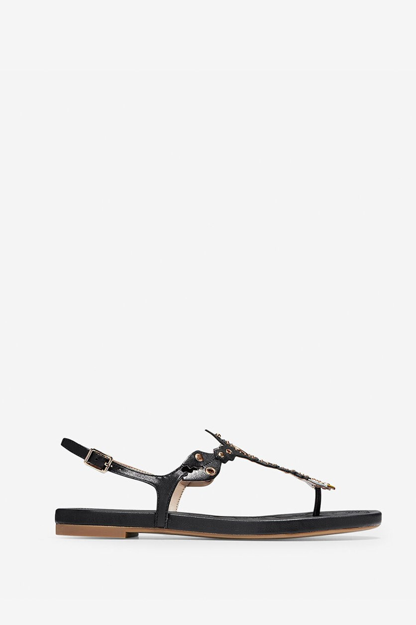 Cole Haan Women's Pinch Lobster Sandals, Black