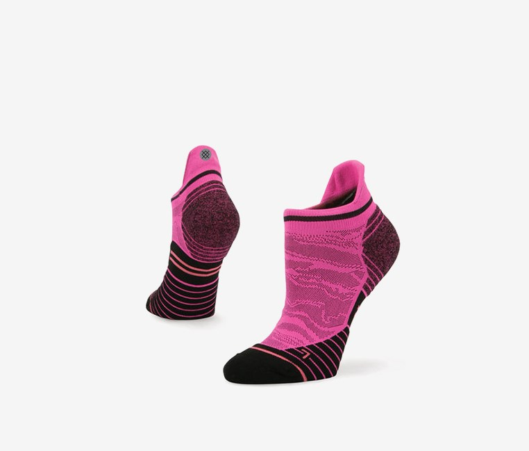 Women's Recovery Tab Socks, Pink