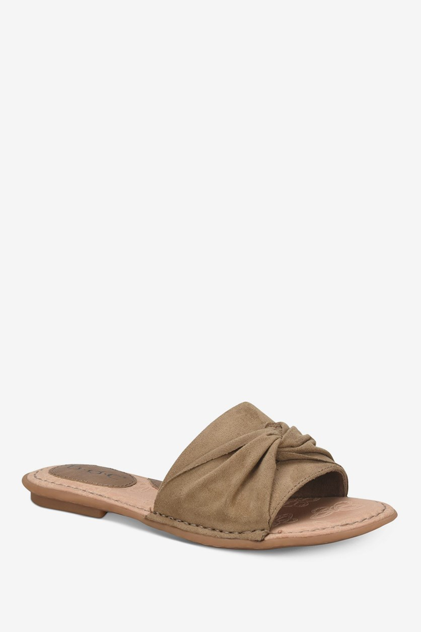 Women's Haley Flat Sandals Shoes, Taupe