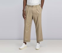 Dockers Relaxed Fit Comfort Pleated Pants, Khaki