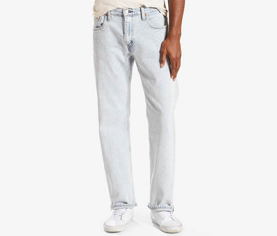 Levi's 569 Loose Straight Fit Jeans, Light Blue