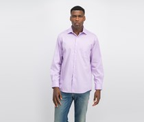Van Heusen Men's Regular Fit Stretch Solid Dress Shirt, Lilac