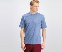 Weatherproof Vintage Mens Pocket T-Shirt, Stone Wash