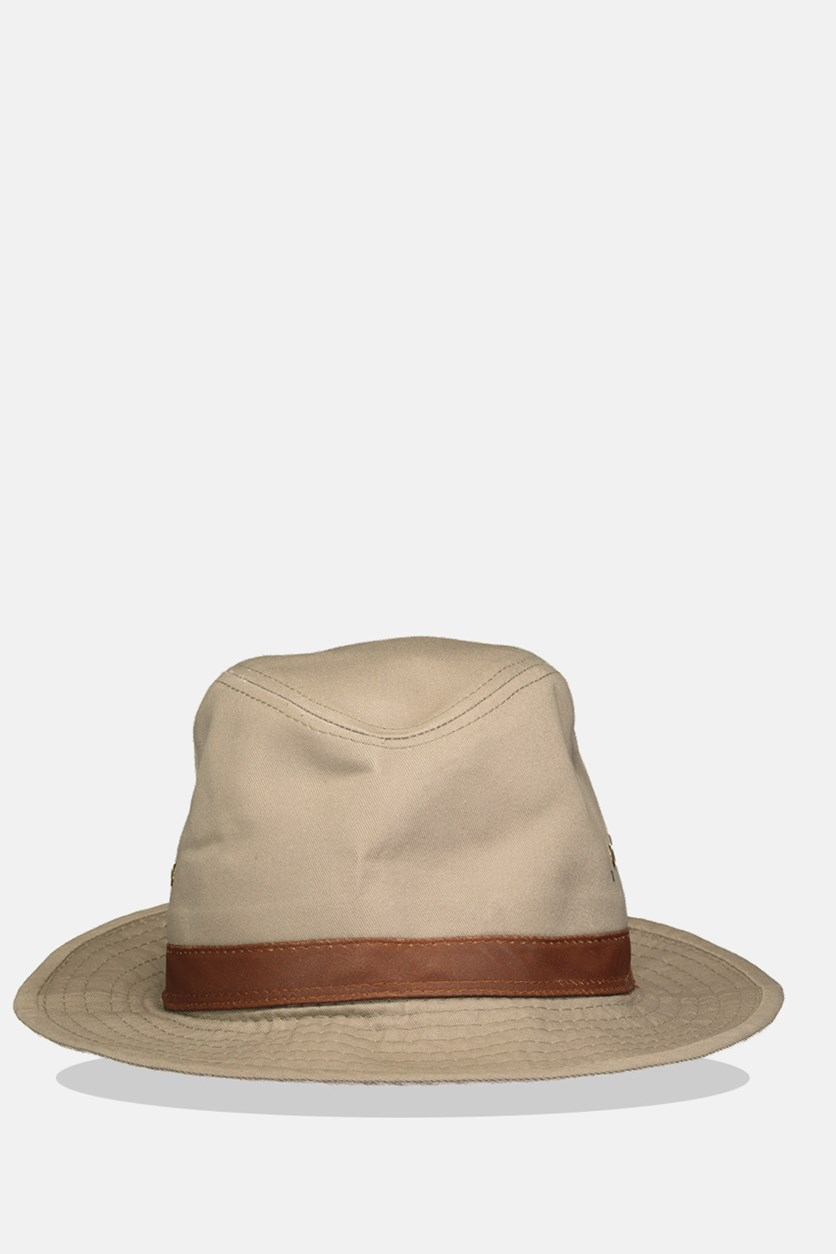 Men's Weathered Safari Hats, Khaki