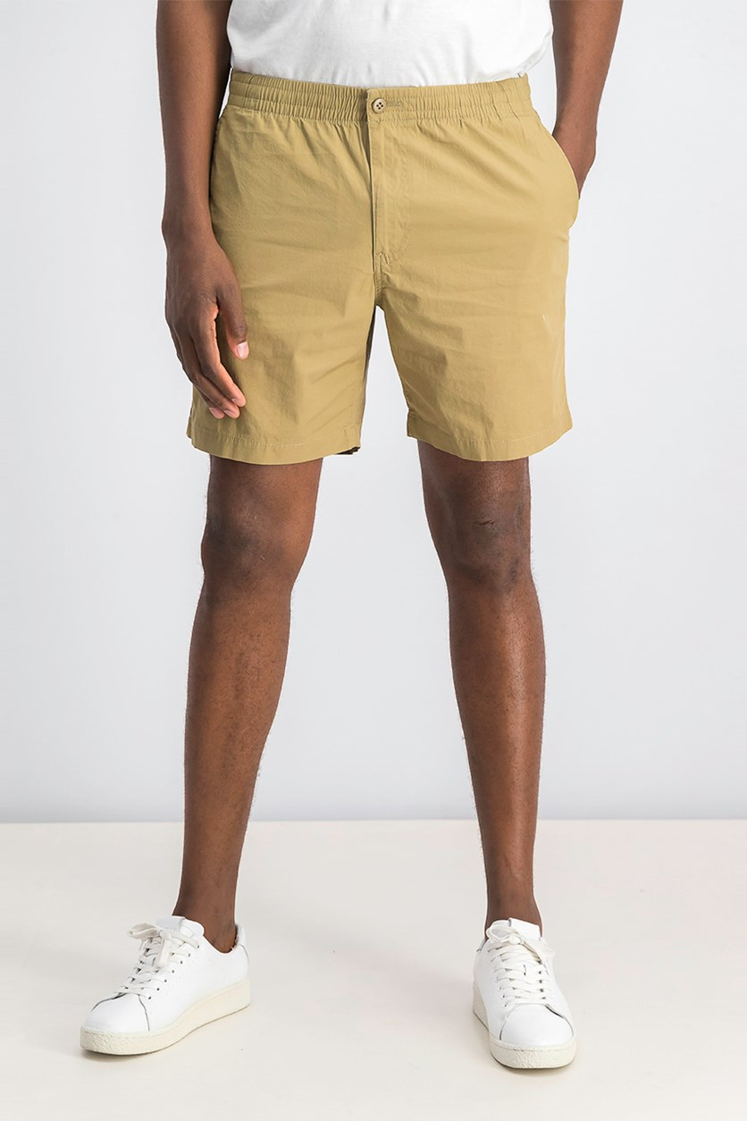 Mens Weekend Cruiser Stretch Shorts, Khaki/Beige