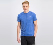 New Balance Men's Seasonless Short Sleeve T-Shirt, Blue
