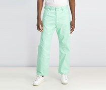 Levi's 501 Original Shrink-to-Fit Jeans, Mint Green