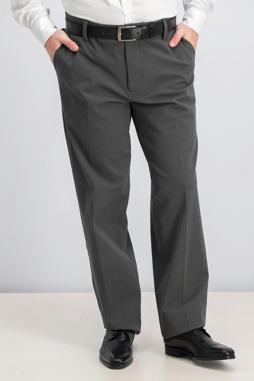 Men's Classic Fit Smart 360 Flex Pants, Dark Grey