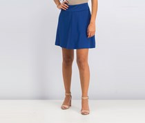 Kensie Women's A Line Skirt, Navy