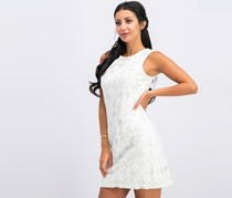 Tommy Hilfiger Burnout Lace A-Line Dress, White