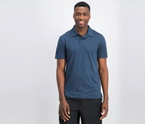 32 Degrees Men's Techno Mesh Polo, Blue