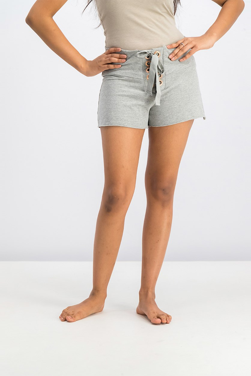 Women's Pajama Short, Gray
