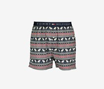 Men's  Printed Boxer Shorts, Twilight
