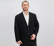 International Concepts Men's Studio Blazer, Deep Black