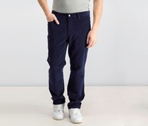 Men's Stretch Casual Corduroy Pants, Navy Blue