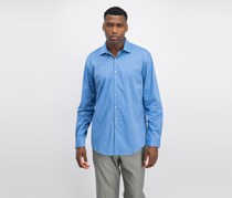 Kenneth Cole Reaction Slim-Fit Dress Shirt, Blue