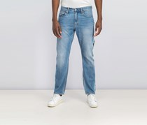 Men's American Classics Straight-Fit Jeans, Blue Wash
