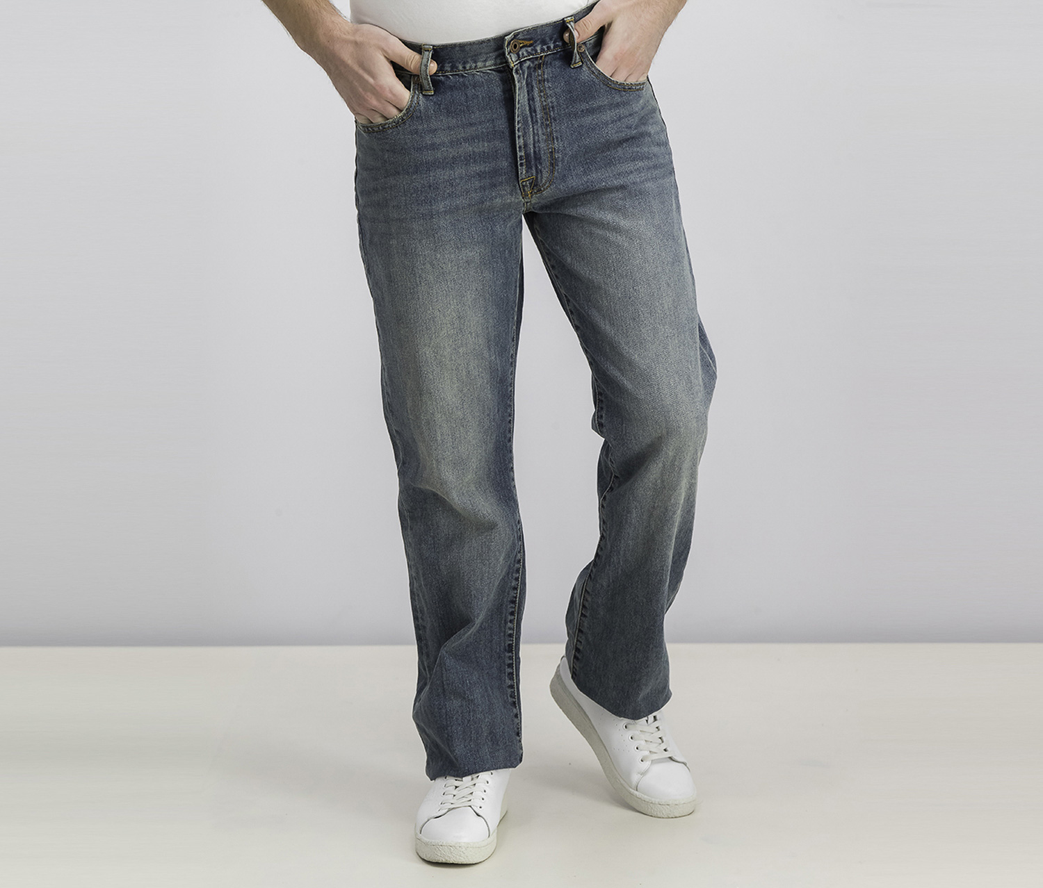 Men's 181 Relaxed Straight Jeans, Wash Blue