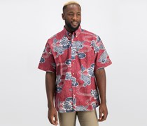 Reyn Spooner Men's Kyoto Ponds Regular Fit Shirt, Red Combo