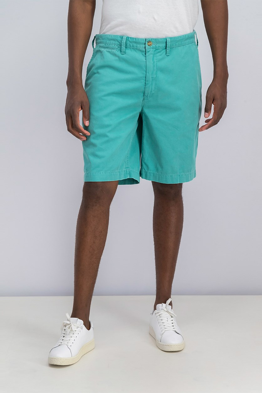 Relaxed-Fit Twill Surplus Short, Green