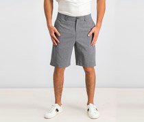 Men's Classic-Fit Stretch Heather Shorts, Medium Grey Heather