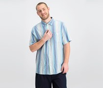 Tommy Bahama Men's La Prisma Stripe Shirt, Blue Combo