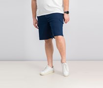 Greg Norman Mens Flat-front  Cargo Short, Blue Velvet