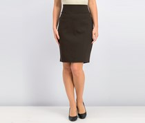 INC Women Ponte Pencil Skirt, Hot Coffee