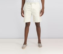 DKNY Mens Sateen Stretch Shorts, Silver Birch