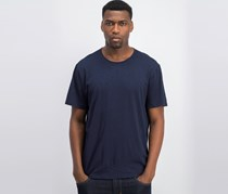 Dkny Men's Mercerized Solid T-Shirt, Navy