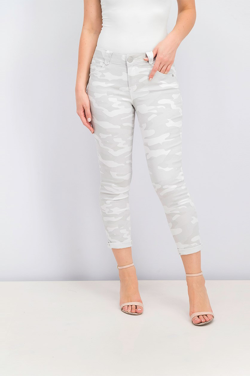 Camouflage Jeans, Light Gray Combo