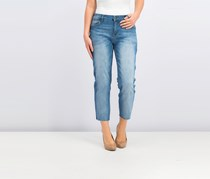 STS Blue Women's Textured Jeans, Wash Blue