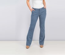 Women's  Bootcut Pants, Steel Blue