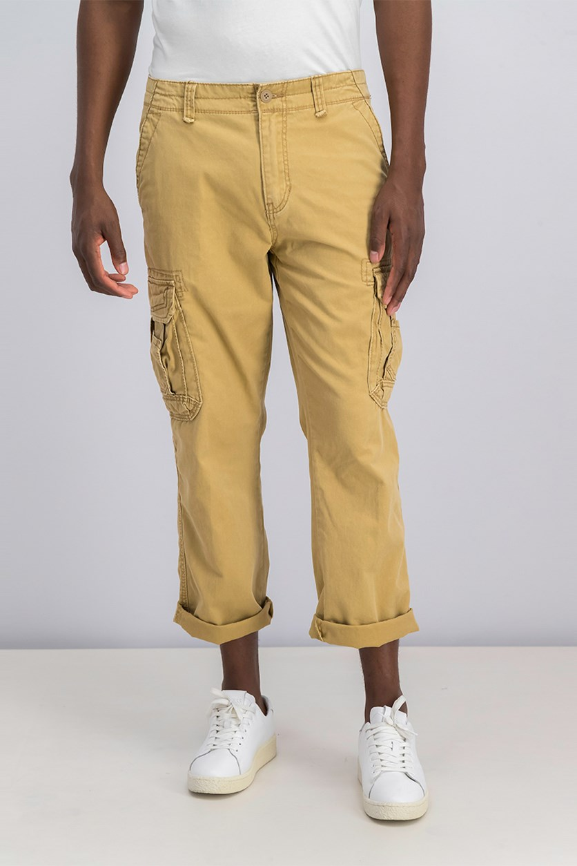 Men's Twill Survivor Cargo Pants, Rye