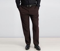 Perry Ellis Mens Slim-Fit Pants, Burgundy