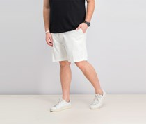 Nautica Anchor Twill Flat Front Shorts, Bright White