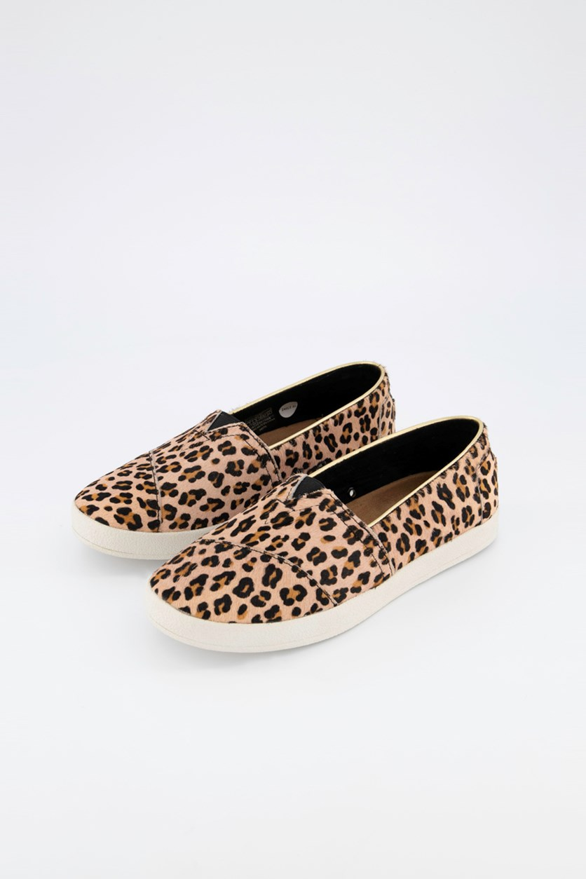 Women's Avalon Slip-On Sneaker, Leopard