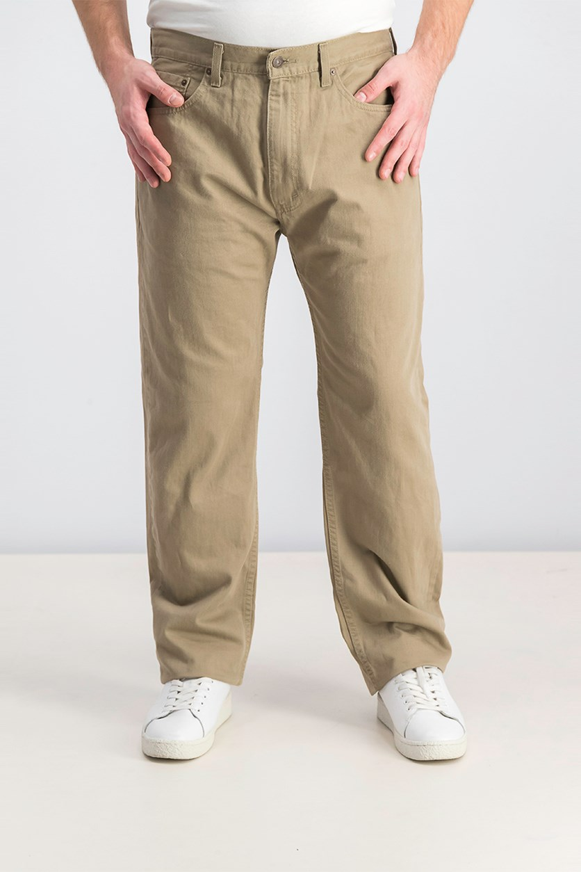 Men's 505 Regular Fit Twill Pant, Timberwolf
